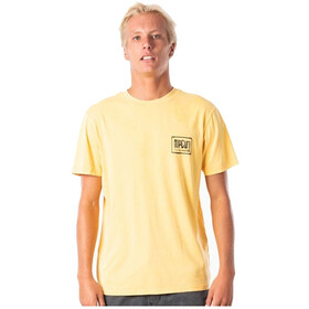 Rip Curl Native Glitch Camiseta Hombre, washed yellow